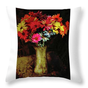 A Light Shines Into The Darkness Of My Soul Throw Pillow