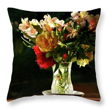 A Light Through Yonder Window Breaks Throw Pillow