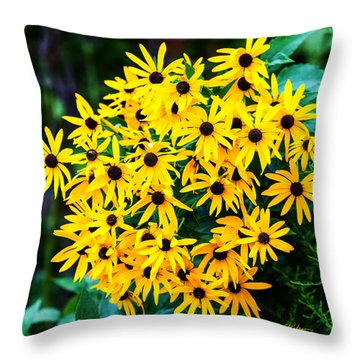A Like Grouping Throw Pillow by Edward Peterson
