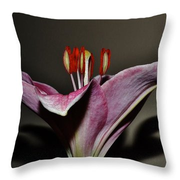 A Lily Throw Pillow