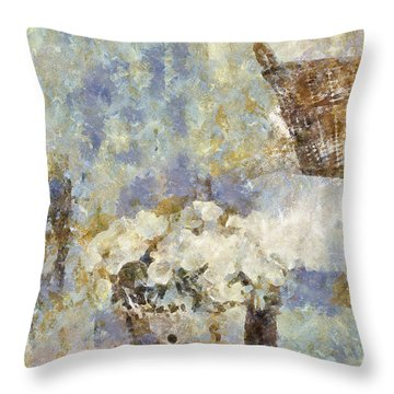 A Little Bit Of Country Throw Pillow by Shirley Stalter