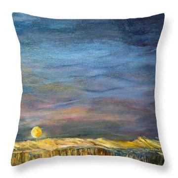 A Little Moon Magic Throw Pillow