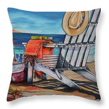 A Little Piece Of Texas Heaven Throw Pillow by Patti Schermerhorn
