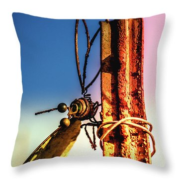 A Little Rusty Throw Pillow