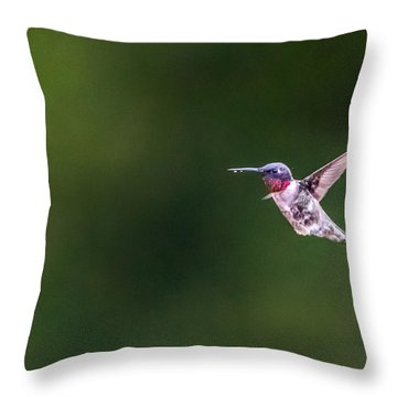 A Little Something On The Chin Throw Pillow