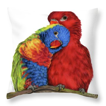 A Little To The Left Throw Pillow