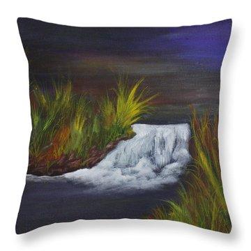 A Little Wild Throw Pillow