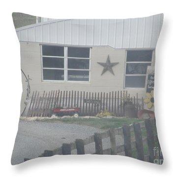 A Local Farm Throw Pillow