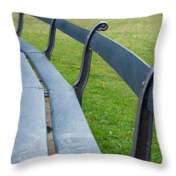 A Long Sit Down Throw Pillow