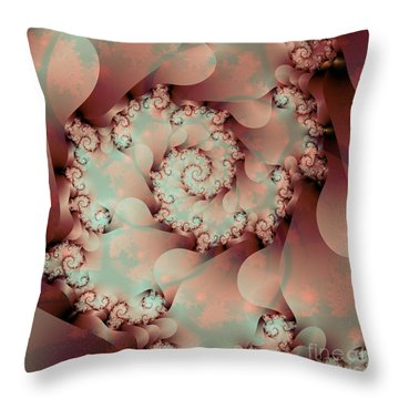A Look Inside Throw Pillow by Michelle H