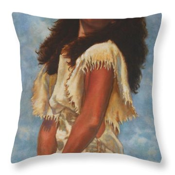 A Look Upward Throw Pillow