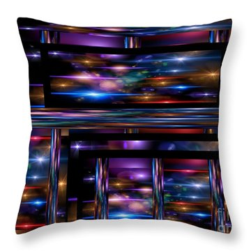 A Lot Going On 2 Throw Pillow