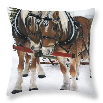 A Loving Union Throw Pillow