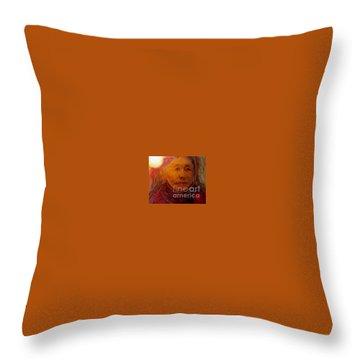A Luminous World Throw Pillow
