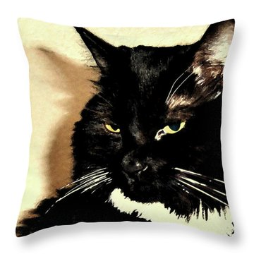 A Maggie Moment Throw Pillow