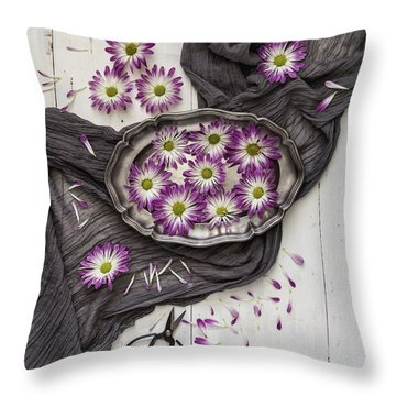 Throw Pillow featuring the photograph A Magical Moment by Kim Hojnacki
