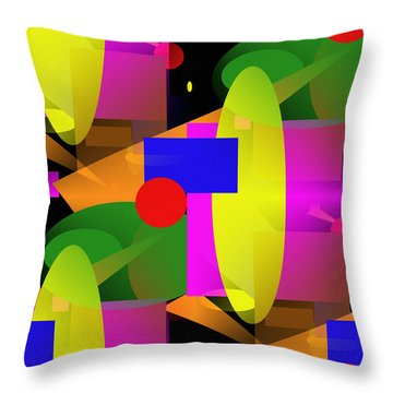 A Matter Of Perspective - Series Throw Pillow