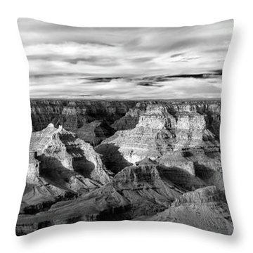 Throw Pillow featuring the photograph A Maze by Jon Glaser