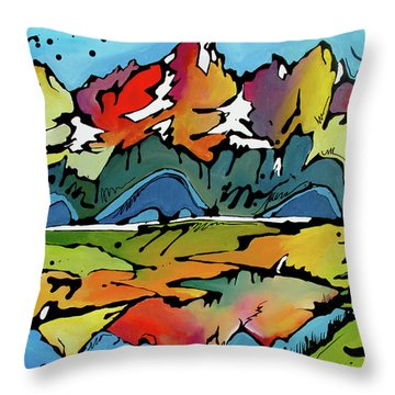 A Memory Throw Pillow