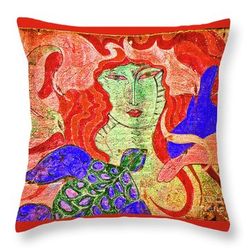 A Mermaids Life Throw Pillow