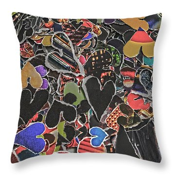 A Million Temples Of Love Minus Some 996452 Throw Pillow