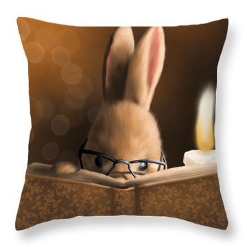 A Mystery Story Throw Pillow
