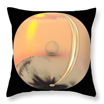 'a Misunderstanding' Throw Pillow