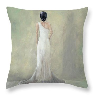 A Moment Alone Throw Pillow