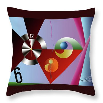 A Moment Before The Sixth Throw Pillow