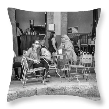 A Moment For Everyone Throw Pillow