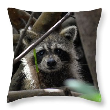 A Moment Of Connection Throw Pillow