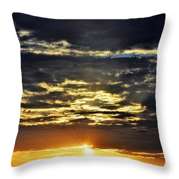 A Moment Of Silence Please Throw Pillow