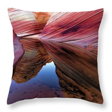 Throw Pillow featuring the photograph A Moment To Reflect by Jonathan Davison