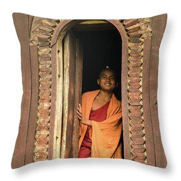 A Monk 4 Throw Pillow