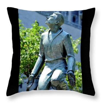 A Monument To Religion Throw Pillow