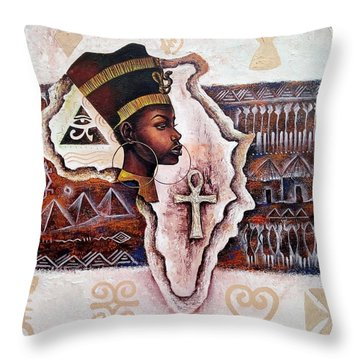 A Mother To All Throw Pillow