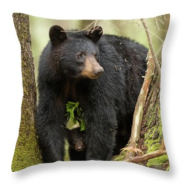 A Mothers Love Throw Pillow by Everet Regal