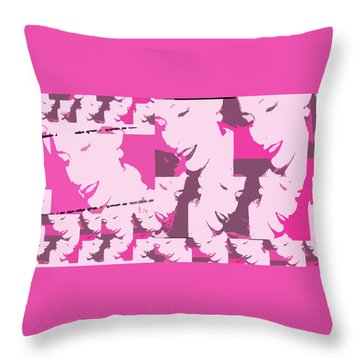 A Multitude  Throw Pillow