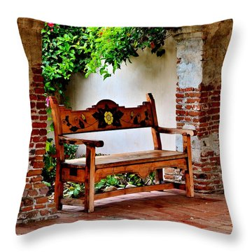 A Necessary Respite Throw Pillow