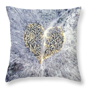A New Breath Throw Pillow