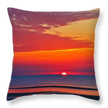 A New Day Throw Pillow by Brian Wright