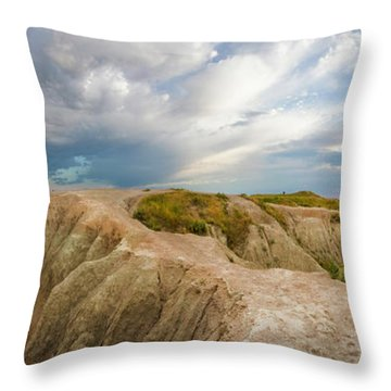A New Day Panorama Throw Pillow