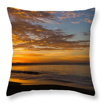 Throw Pillow featuring the photograph A New Day by Lora Lee Chapman