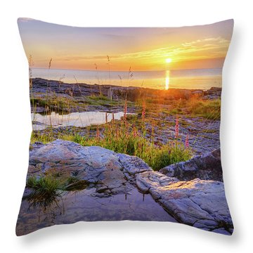 A New Day's Born Throw Pillow