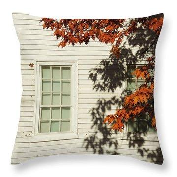 A New England Composition Throw Pillow