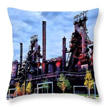 A New Era - Bethlehem Pa Throw Pillow