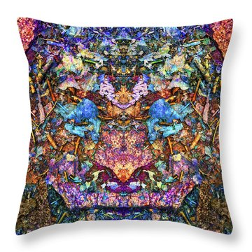 A New Kind Of Warrior Throw Pillow
