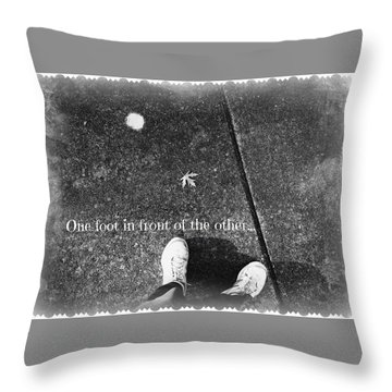A New Path Throw Pillow