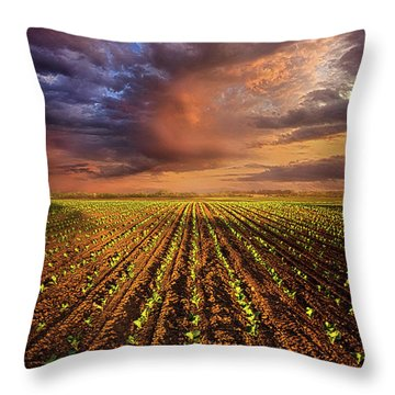 A New Season Throw Pillow