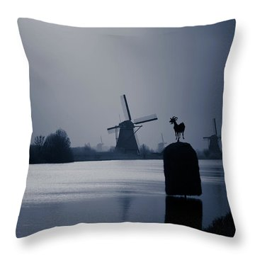 A Nice View Throw Pillow by Jill Smith